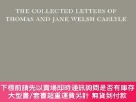 二手書博民逛書店The罕見Collected Letters Of Thomas And Jane Welsh Carlyle