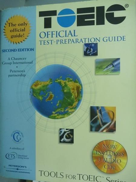 【書寶二手書T7/語言學習_PFE】Toeic official Test-Prepare Guide_無光碟