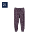 Gap女裝圖案寬鬆舒適休閒褲499141-魅力棗紅色