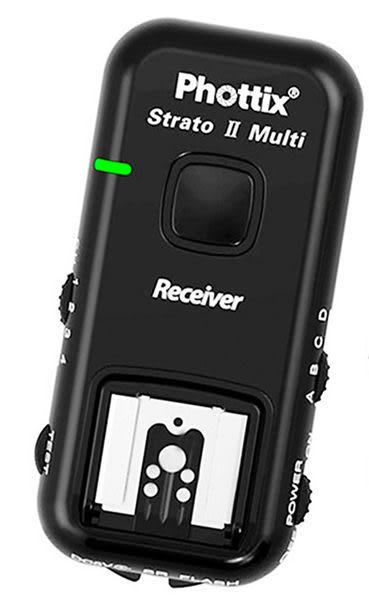 呈現攝影-Phottix Strato II C 無線閃燈觸發器2.4G canon 可雙閃 分組 德國名牌 ETTL 離機閃 單接收x1