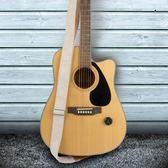 吉他背帶棉麻耐用吉他帶背帶民謠電木吉他配件斜挎吉他琴帶經典款子肩帶 全館免運