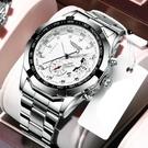 手錶 防水夜光全自動男士手錶男學生韓版潮流時尚非機械錶 韓國時尚週