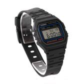 手錶 CASIO卡西歐復古方型多功能電子運動錶 黑藍配色 防水50米【NE1787】原廠公司貨