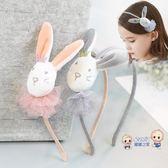 髮箍 兒童髮飾可愛小兔子髮箍小女孩卡通頭箍寶貝髮卡女童學生頭箍頭飾 4色