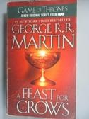 【書寶二手書T5/原文小說_HMV】A Feast for Crows_George R. R.