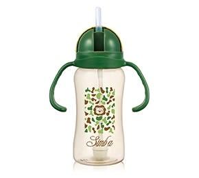 『121婦嬰用品館』小獅王辛巴 PPSU自動把手滑蓋杯(迷彩) 240ml