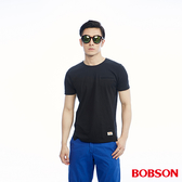BOBSON  男款素面剪接上衣(26021-88)