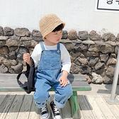 男童吊帶褲春秋嬰童秋裝兒童女韓版洋氣吊帶寶寶可愛小童牛仔褲潮 【夏日新品】