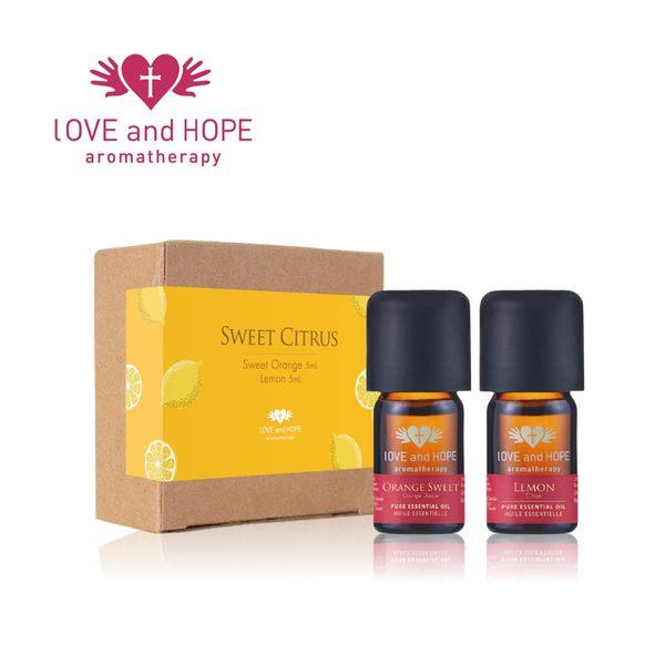 【Orient Retreat登琪爾】愛與希望LOVE&HOPE  甜蜜果實禮盒組Citrus Dream (甜橙+檸檬)