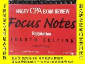 二手書博民逛書店Wiley罕見CPA Examination Review Fo