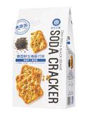 (二包特價) 自然主意奇亞籽蘇打餅-黑芝麻養生180g*2包  *維康