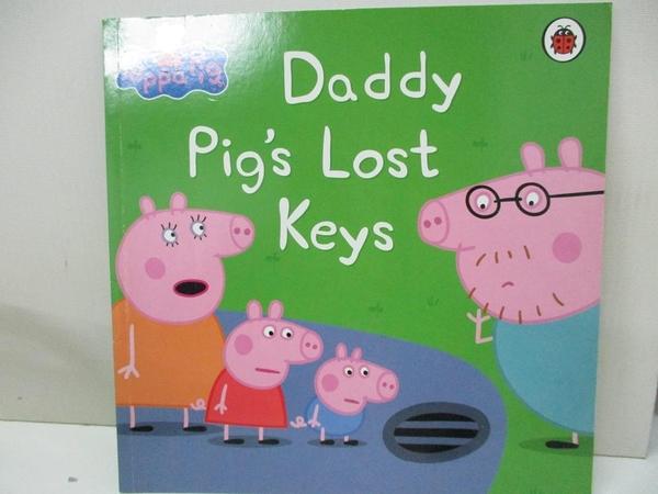 【書寶二手書T1/少年童書_D5P】Peppa Pig: Daddy Pig s Lost Keys_Mandy archer