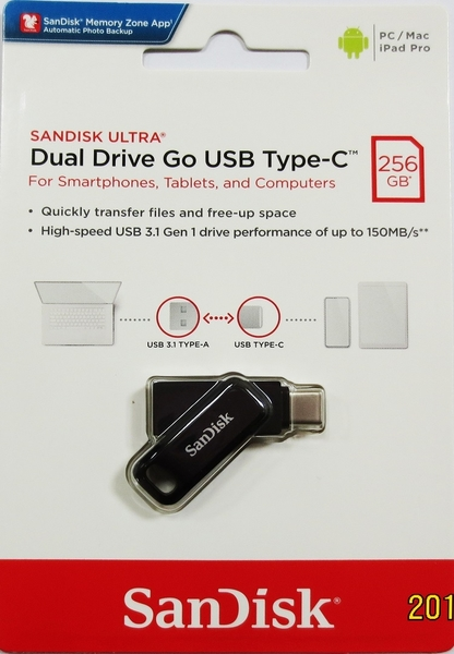 SanDisk 256GB 256G Ultra GO TYPE-C【SDDDC3-256G】OTG USB 3.1 雙用 隨身碟