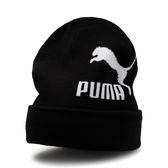 Puma Select Archive 毛帽 黑 毛球毛帽 男 女 字母 毛帽 保暖 聖誕禮物 02179401