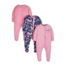mothercare 3入小花袋裝睡服-G12(M1JB913)03~12個月
