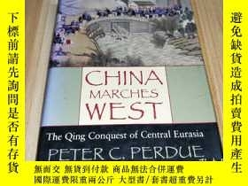二手書博民逛書店china罕見marches west: the qing co