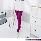 OB嚴選《BA2677-》造型感繡線口袋修身剪裁彈性窄管褲‧8色--適 S~XL