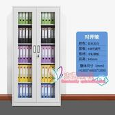 公文櫃 南京文件櫃鐵皮櫃更衣櫃檔案憑證櫃抽屜帶鎖資料櫃鋼制行動辦公櫃T 2色