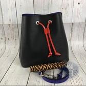 BRAND楓月 LOUIS VUITTON LV 黑色 紫色內裡 EPI NéoNoé 水桶包 手提包 肩背包