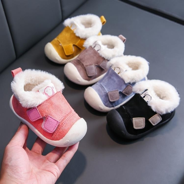 寶寶鞋子秋季男童布鞋0-2歲1嬰兒幼兒學步鞋軟底防滑女兒童地板鞋 瑪麗蘇