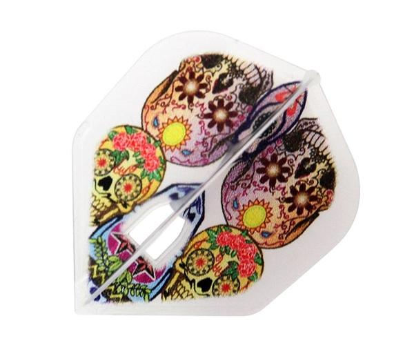 【L-Flight x D.Craft】PRO Flower Skull 鏢翼 DARTS