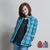 【桃源戶外】Polarstar 格子襯衫│保暖│珊瑚絨女外套P13210『藍綠』