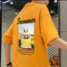 ★現貨速達★ 情侶T MIT 台灣製造【YC683-5】短袖-背後圖summer黃色麵包車 表演服 團體服 艾咪e舖