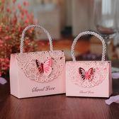 歐式喜糖盒結婚紙盒手提糖果個性婚慶用品
