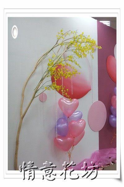 新北市永和情意花坊網路花店~開幕祝賀/活動造勢佈置/週年慶佈置/氣球會場佈置