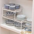 廚房置物架瀝水碗架櫥柜碗盤碟筷收納餐具下水槽分層架【小獅子】
