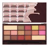 英國 Makeup Revolution Chocolate - Rose Gold 玫瑰金巧克力眼影盤