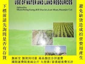 二手書博民逛書店WATER罕見SAVING AGRICULTURE AND SUSTAINABLE USE OF WATER AN