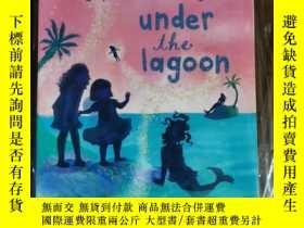 二手書博民逛書店Disney罕見The never girls under The lagoon 兒童讀物 英文版Y42402