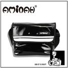 潮牌AMINAH~【am-0116】 日系簡約 時尚相機包  鏡面黑色