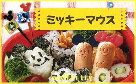 廚房【asdfkitty】迪士尼米奇大食物叉旗-水果插-三明治叉-宴會點心叉-便當-實用裝飾-日本製