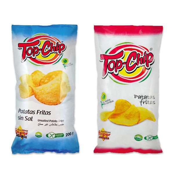 飛寶Flaper TOP CHIP洋芋片200g系列(原味/無鹽)