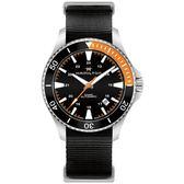 Hamilton漢米爾頓卡其海軍系列潛水機械腕錶  H82305931