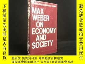 二手書博民逛書店1989年罕見Max Weber on Economy and
