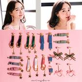 ★現貨★MIUSTAR 韓國流行緞帶幾何造型耳環(共12款)【NE2289T1】