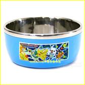 廚房【asdfkitty可愛家】皮卡丘防燙18-10不鏽鋼飯碗M號/學習碗-無毒環保餐具-韓國製