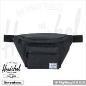 Herschel 腰包 單肩側背包 黑色十字線 Seventeen-2090 得意時袋