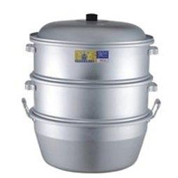 **好幫手生活雜鋪**鋁製蒸籠組35CM(1鍋2層1蓋)