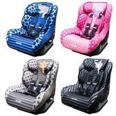 NANIA 納尼亞 0-4歲安全汽座/汽車安全座椅- 斑馬黑 / 河馬粉 (單台),法國原裝進口【杏一】