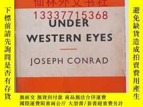 二手書博民逛書店【罕見】under western eyesY27248 JOS