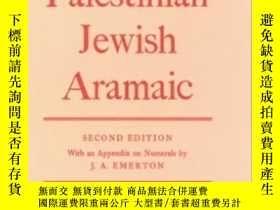 二手書博民逛書店Grammar罕見Of Palestinian Jewish A