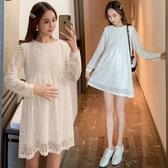 NICELIFE 蕾絲洋裝 【D7112】 韓系 孕婦裝 洋裝 蕾絲 連身裙