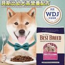 此商品48小時內快速出貨》美國Best breed貝斯比》幼犬雞肉高營養配方犬糧飼料1.8kg