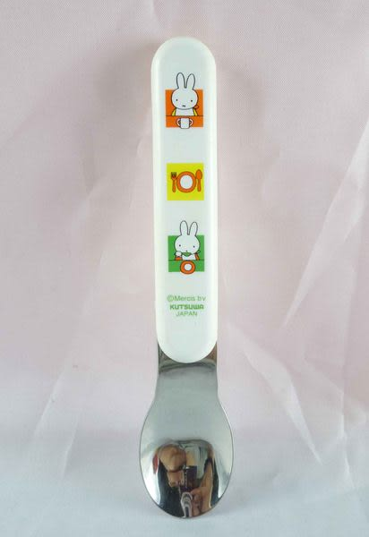 【震撼精品百貨】Miffy 米菲兔米飛兔~湯匙『白』