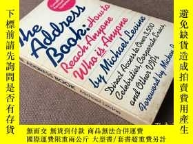 二手書博民逛書店The罕見address book: how to reach