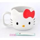 【震撼精品百貨】Hello Kitty_凱蒂貓~kitty 造型杯子-大頭#14497